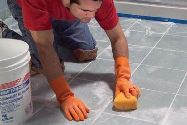 отмыть эпоксидную фугу с плитки
